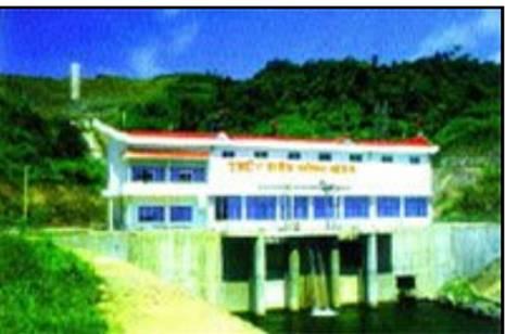 Toàn cảnh nhà máy thủy điện Nậm Mu