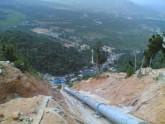 Chế tạo & lắp đường ống áp lực Krongkmar